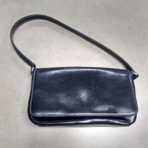 Fossil SL3620 Black Leather mini bag